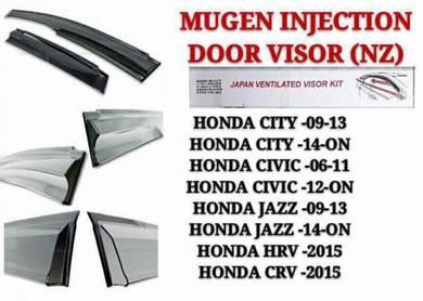 City Jazz Civic Crv Hrv Injection Mugen Door Visor