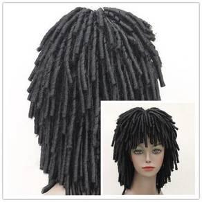 Latin American black stylish dread lock head fashi