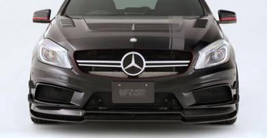 Mercedes Ben W176 A45 Varis Front Lip Carbon Fiber