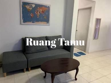 Bilik Muslimah Flat Presint 9, Fully-Furnished inc Elektrik Air Wifi