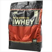 On gold standard 100% whey protein naik muscle