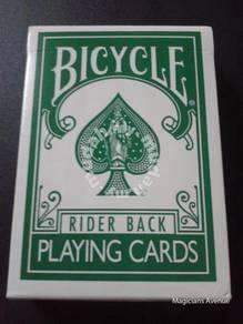 Reversed Back Bicycle Deck-(Green Deck 2nd Gen.)