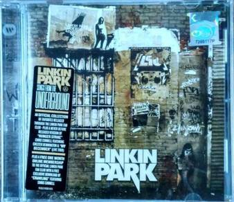 CD LINKIN PARK Songs From The Underground