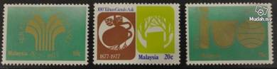 Mint Stamp 100 Years Natural Rubber Malaysia 1978
