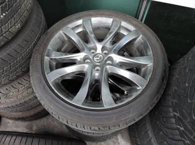 Mazda 6 2015 Ori 7.5Jx19 Sport Rims+Tyres