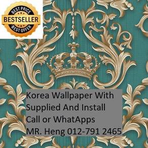 PVC Vinyl Wall paper with Expert Install gh74852