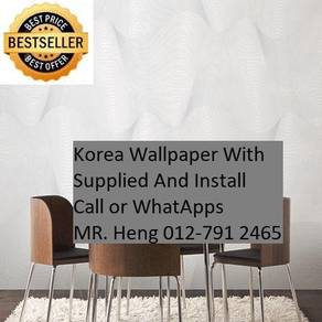 PVC Vinyl Wall paper with Expert Install gh4152