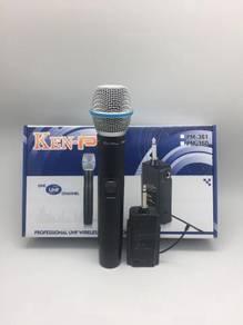 KEN-PRO PM-361 Mono Channel UHF Wireless Mic