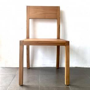 Solid Seat Dining Chair teak wood - casateak