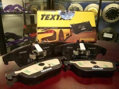 Textar rear disc brake pads for MERCEDES C CLASS