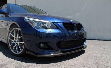 BMW E60 M Sport Msport Carbon Front Lip Bodykit