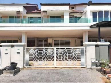 Double storey terrace house at taman pengkalan 18 ( precint 18)