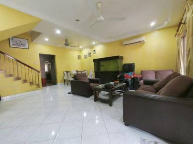 FULLY EXTENDED Double Storey Terrace Puchong Prima near LRT