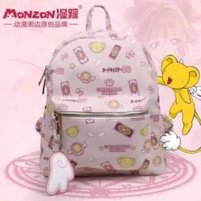 Cardcaptor sakura backpack pink kero
