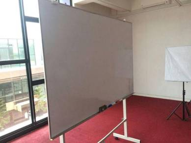 Whiteboard 4x8 magnetic pasang wall MOUNTING
