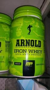 Arnold iron Whey 100% Protein chocolate muscle