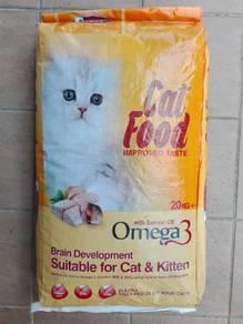 Sweet Tweet Cat Kitten Food 20kg Makanan Kucing