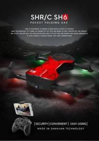 SH6 Mini Drone With Camera 2MP Wifi FPV