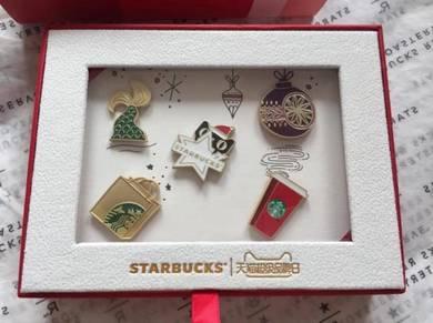 Starbucks Tmall Limited Edition Pin Set