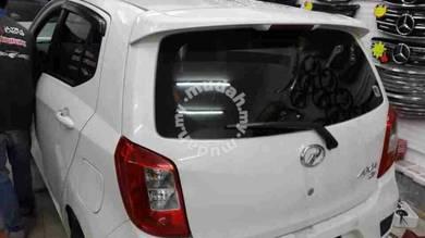 Perodua axia oem se spoiler with paint ori abs