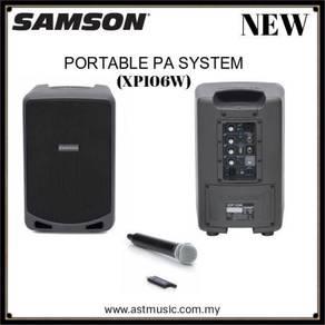 Samson wireless portable pa system (xp106w)