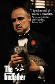 Poster MOVIE GODFATHER I SPEND