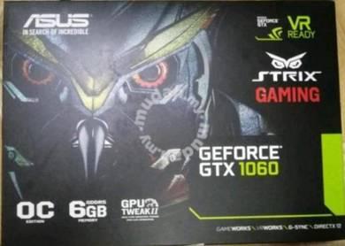 Asus Strix Geforce GTX1060