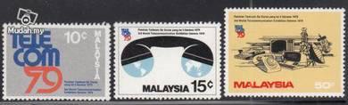 Mint Stamp World Telecommunications Malaysia 1979