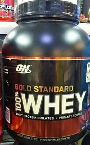 ON GOLD STANDARD 100% WHEY PROTEIN 5lb. 2.27kg