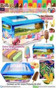 Icecream Freezer Chest Aiskrim Display Ice Cream
