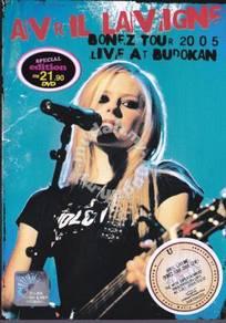 DVD AVRIL LAVIGNE Bonez Tour 2005 Live At Budokan