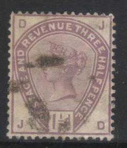 Great britain qv 1883-1884 sg188 cat 45 bj537