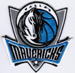 NBA Dallas Mavericks Mavs Basketball Badge Patch