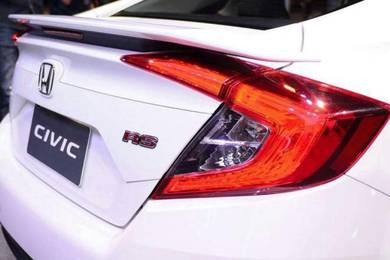 Honda civic fc x rs spoiler with paint abs