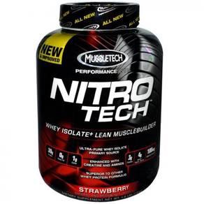 Muscletech nitrotech whey protein naik muscle