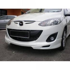 Mazda 2 sedan rsr bodykit with spoiler and paint