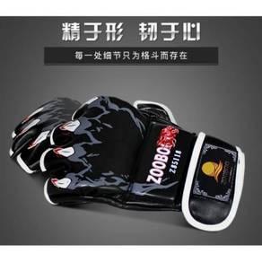 MMA half finger gloves / sarung tangan mma 06