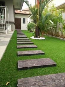 Pakej landskap dan tanam rumput murah