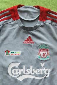 Adidas Liverpool grey jersey jersi kelabu