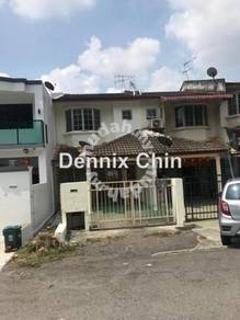 Double storey house at Taman Mas, Jalan Cheras Mas, Leisure Mall