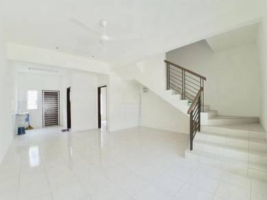 LOW DEPO, FULL LOAN Double Storey Terrace Desiran Bayu Puchong