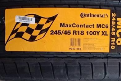 Tayar Continental MC6 245 45 18 Tyre New Year 2020