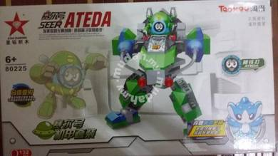 Bricks - SD 80225 Seer Ateda Robot 2pcs (green)