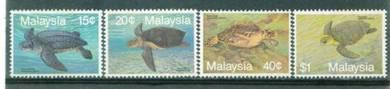 Mint Stamp Marine Life Turtle Malaysia 1990