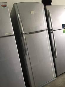 Toshiba 2 doors big Fridge Refrigerator Peti Sejuk