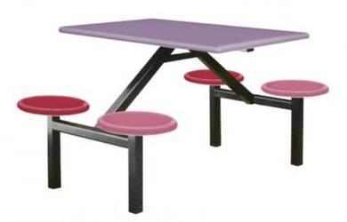 MC Food Court Fiberglass FRP Table Set