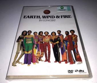 IMPORTED DVD Earth, Wind & Fire In Concert