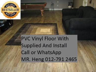 NEW Made Vinyl Floor with Install 42343b5