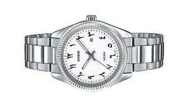 Casio Ladies Analog Date Watch LTP-1302D-7B3VDF