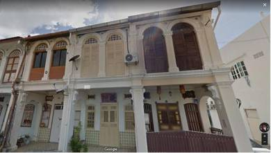 Double Storey Heritage Corner Unit Georgetown Burma Road